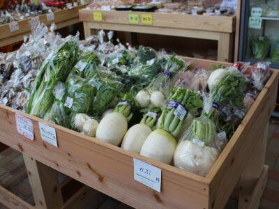 『新鮮な農作物がいっぱい!』の画像