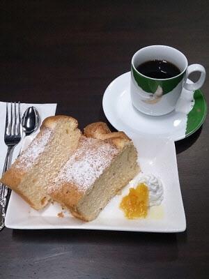 『シフォンケーキのセット』の画像