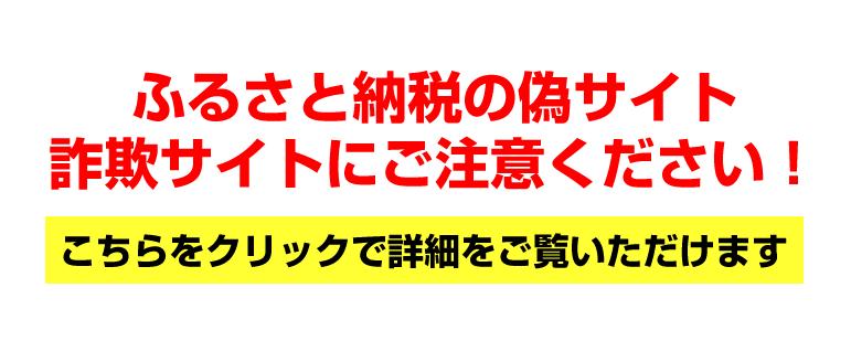 中島村ふるさと納税 偽サイト・詐欺サイトに対する注意喚起